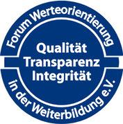 Forum Werteorientierung in der Weiterbildung e.V. / Qualit't, Transparenz, Integrität